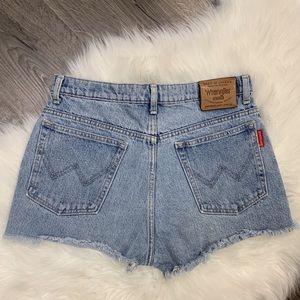 Wrangler Cut-off Denim Shorts